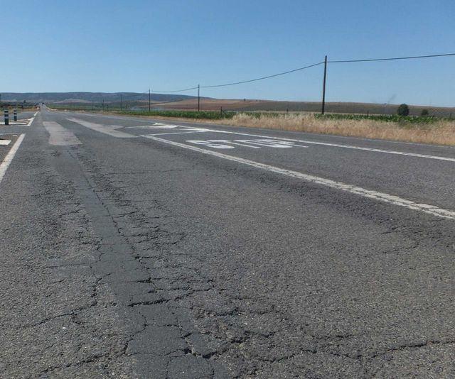 La Junta destinará 11,2 millones de euros para arreglar 16 carreteras
