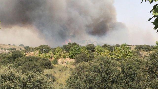 El incendio declarado en Toledo el viernes queda controlado y se desactiva el nivel 1 de alerta