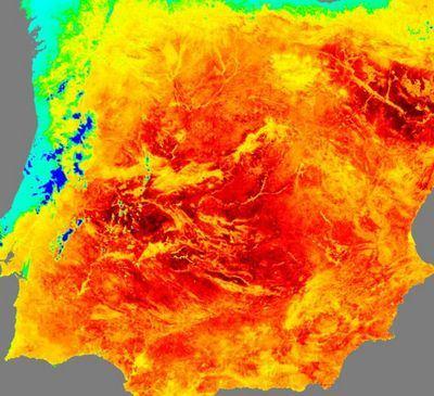 Talavera registró el sábado la temperatura más alta de Castilla-La Mancha
