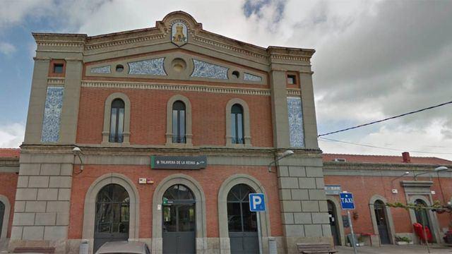 Estación de tren de Talavera / Google Maps