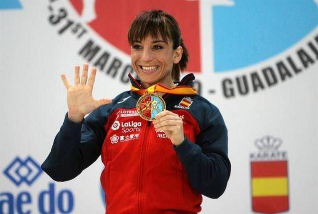 La talaverana Sandra Sánchez recibirá la Medalla de Oro al Mérito Deportivo el 7 de febrero