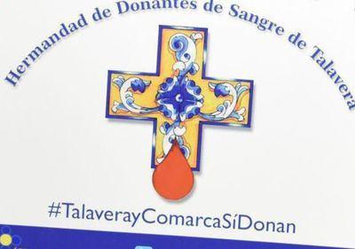 La Diputación apoya la labor social de la Hermandad de Donantes de Sangre de Talavera