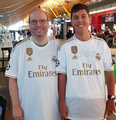 Dos talaveranos en el Summer Tour del Real Madrid en EE.UU. (fotos)