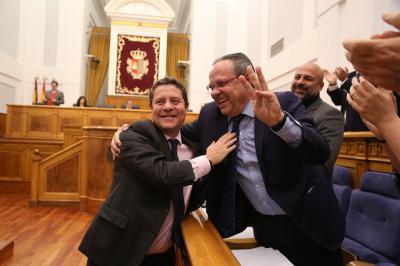 Salen adelante los terceros presupuestos de García-Page que ascienden a 9.219 millones de euros