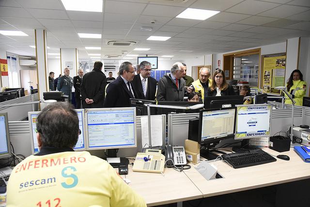 El servicio 112 de Castilla-La Mancha atendió durante 2017 más de 1,5 millones de llamadas, 4.000 al día