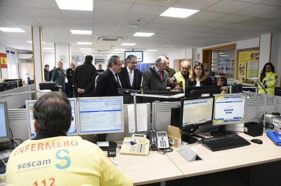 El 112 de Castilla-La Mancha atendió durante 2017 más de 1,5 millones de llamadas