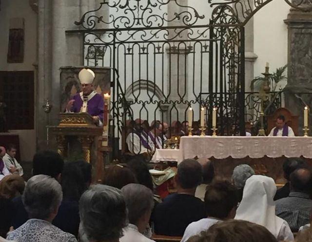 Emotiva despedida al párroco David Rodríguez en la Colegial de Talavera