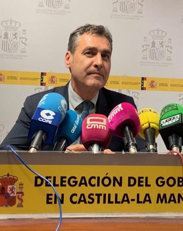 El delegado del Gobierno de Castilla-La Mancha, Francisco Tierraseca. / Foto: Archivo