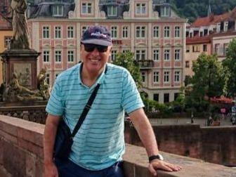 Omar José Ferraro Rossini durante unas vacaciones / Facebook