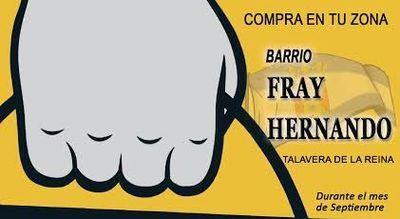 Iniciativa de la AV Fray Hernando para apoyar los comercios del barrio