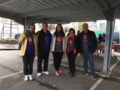 Estefanía Mellado, en la Carrera y Marcha Solidaria Contra el Cáncer