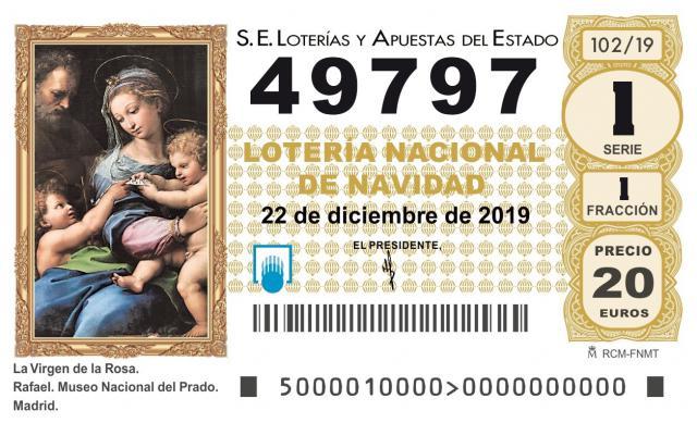 El 49.797, agraciado con el segundo cuarto premio del Sorteo de Navidad