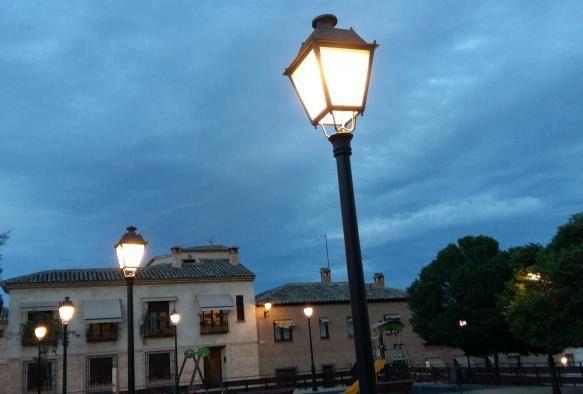 Alumbrado público exterior / Archivo