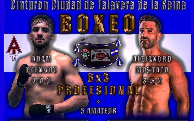 El boxeador talaverano Adam Trenado peleará el sábado en el Primero de Mayo