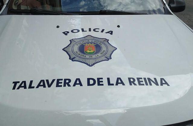 Coche de la Policía Local de Talavera d ela Reina