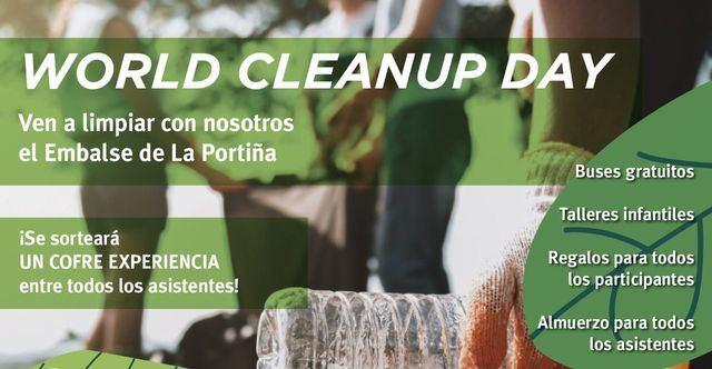 Los Alfares organiza un año más una jornada de limpieza en el embalse de La Portiña