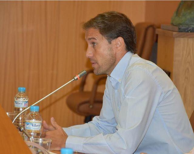 El concejal de Deporte en Igualdad, Sergio Gutiérrez