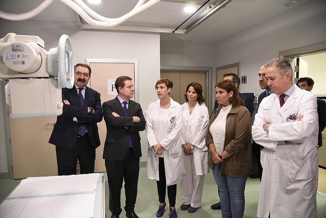 Page anuncia dos nuevas salas de Radiología Digital para el Hospital de Talavera