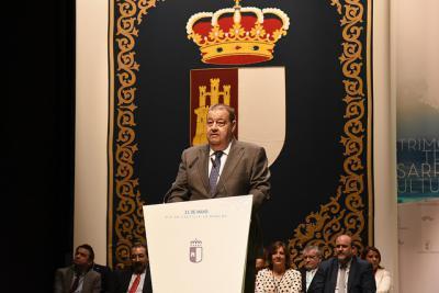 El presidente de las Cortes recibe el alta médica tras pasar la noche en el hospital de Talavera