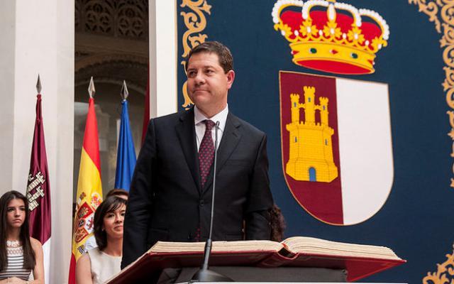Page toma posesión de su cargo como presidente de Castilla-La Mancha este sábado