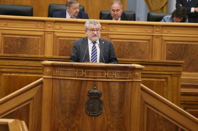 El consejero de Educación, Cultura y Deportes del Gobierno autonómico, Ángel Felpeto