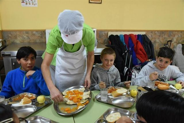10.007 estudiantes de la provincia de Toledo reciben ayudas de comedor escolar