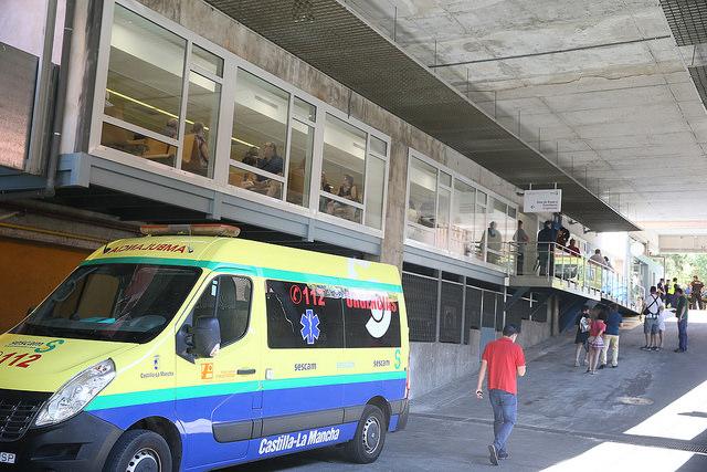 García-Page visita las reformas realizadas en las Urgencias del Hospital de Toledo