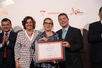 La talaverana Mónica García del Pino, Maestra Artesana de CLM