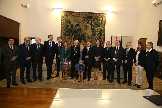 García-Page firma varios convenios de colaboración para el desarrollo de actividades culturales