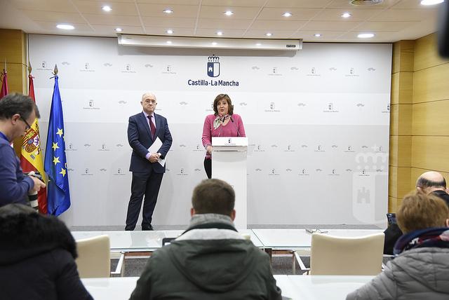 El paro bajó en 13.528 personas en Castilla-La Mancha en el año 2018