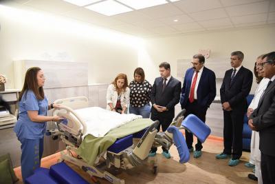 """La Casa de Partos, un """"servicio de excelencia"""" en el Hospital de Talavera"""
