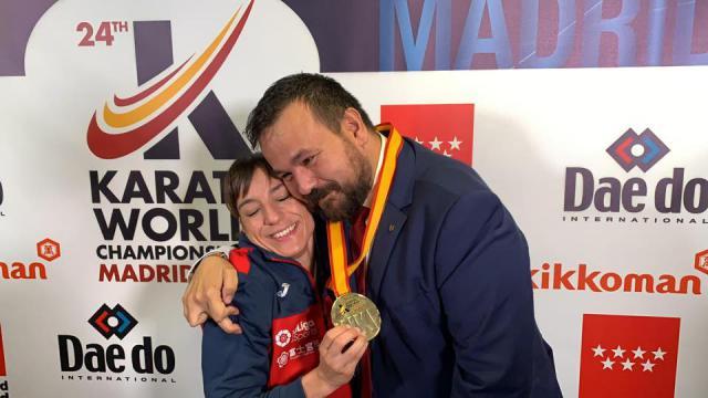Sandra Sánchez y Juan Ramón Amores