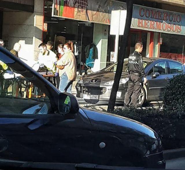 Una mujer herida tras ser atropellada en un paso de peatones de Talavera