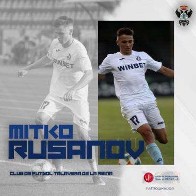 Mitko Rusanov, talento y futuro en el CF Talavera