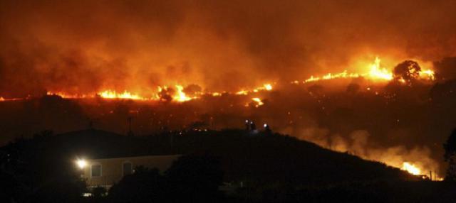 Piden 'prudencia' sobre el origen del incendio de Almorox