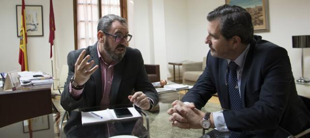La Junta y FEDETO analizan los proyectos empresariales ITI de Talavera