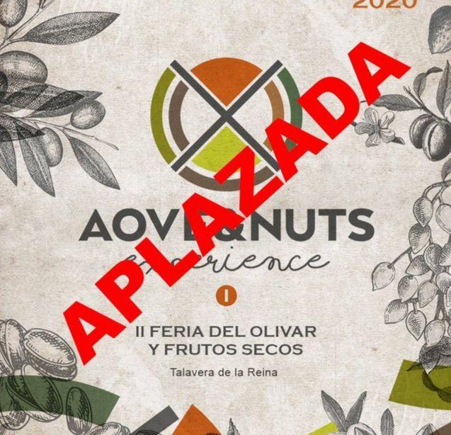 ÚLTIMA HORA | La Feria AOVE&Nuts en Talavera se suspende por precaución