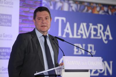 """Page y el '2-2-2' para Talavera: """"2 millones de metros cuadrados de suelo industrial, el doble en políticas de empleo y caudal del Tajo"""