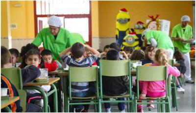 TALAVERA | Estos son los 6 colegios donde recoger el menú de comedor