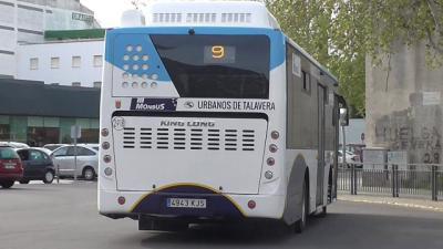 TALAVERA | Autobuses con aforo máximo del 50% y refuerzo en horas punta