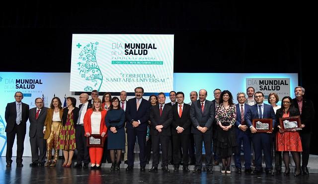 Reconocimiento al Hospital de Talavera en el Día Mundial de la Salud