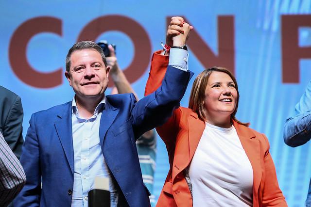 Emiliano García-Page y Tita García