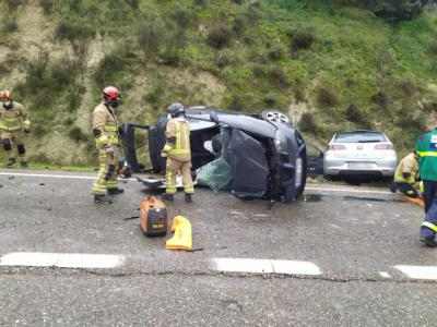 TALAVERA | Dos mujeres trasladas al hospital tras un accidente de tráfico