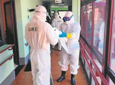 COVID-19 | Los militares prosiguen la desinfección en la comarca de Talavera