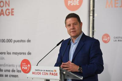Page se compromete a impulsar la creación de 100.000 empleos en la próxima legislatura