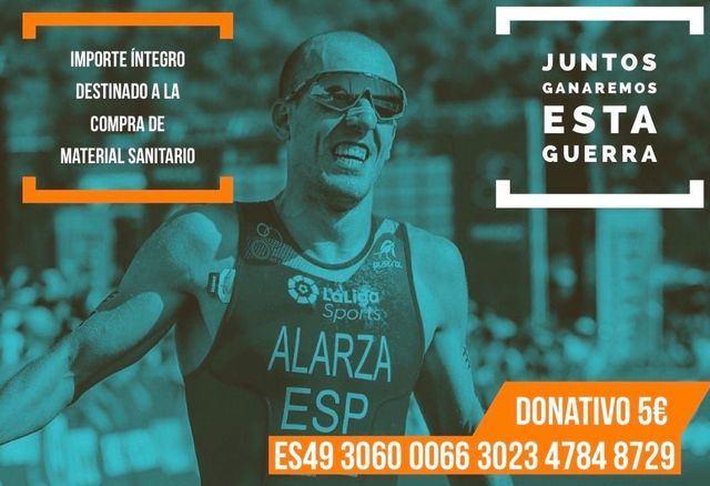 SOLIDARIDAD | '100 km-1000 vidas', el evento de Alarza por Talavera