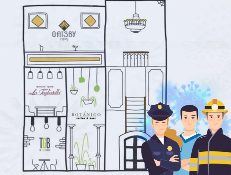TALAVERA | El detallazo de Grupo SanPeter con las Fuerzas y Cuerpos de Seguridad de la ciudad