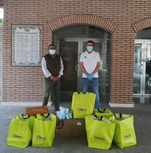 SOLIDARIDAD | Cárnicas Otero y el Ayuntamiento de Pepino protegen a los pepineros