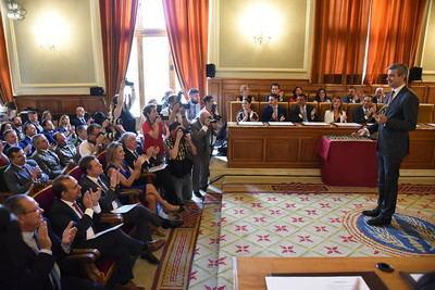 Álvaro Gutiérrez toma de posesión como presidente de la Diputación de Toledo (FOTOS)