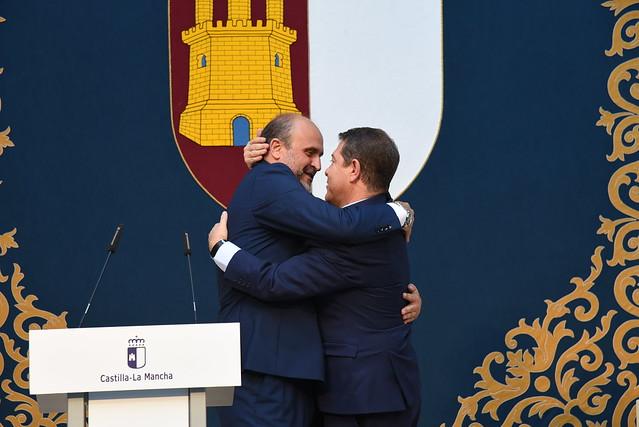 Las imágenes de la toma de posesión del nuevo Gobierno de Castilla-La Mancha
